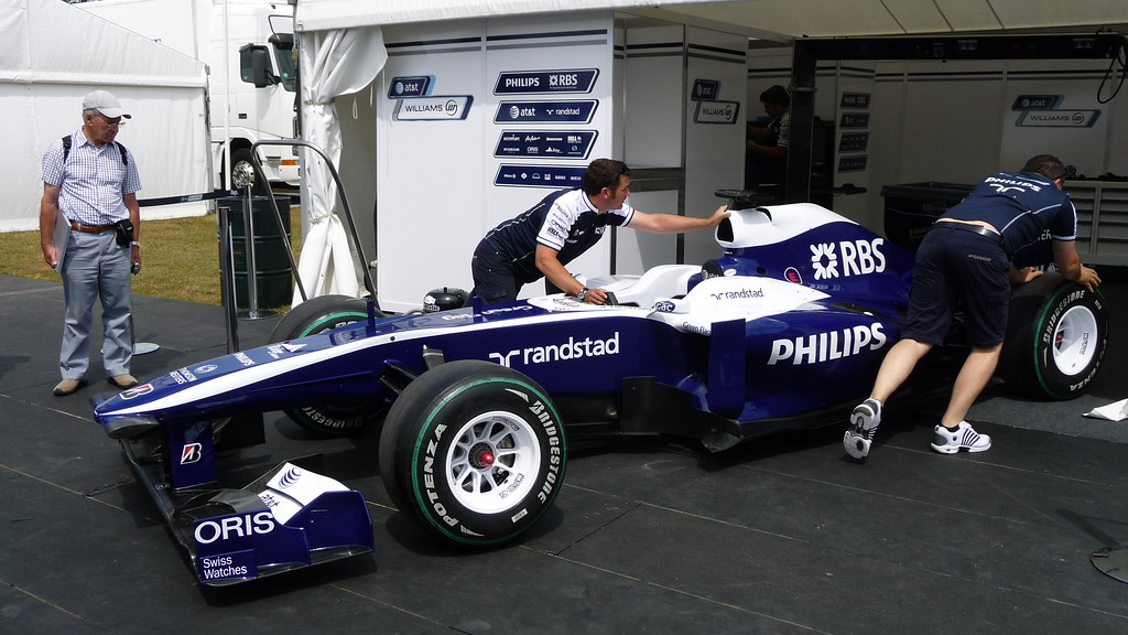 Williams @ Festival of Speed 2010