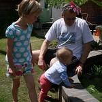 Nice head wear grandad<br/>11 Jul 2010