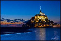 Normandy - Le Mont Saint-Michel, A Jewel on a Rock photo by Yen Baet