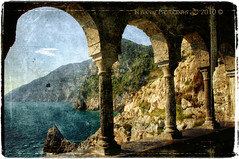 Panoramic views from the Romanesque arches. photo by in eva vae