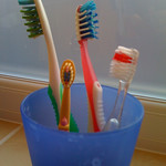 We are now a 4 toothbrush family<br/>18 Jul 2010