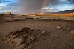 Trona Pinnacles Rainbow photo by sandy.redding