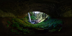 Behind North Falls, Silver Falls State Park, Oregon photo by Mantis of Destiny