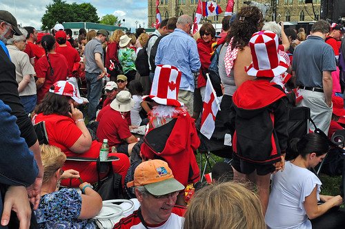Canada Day 2010, wear red