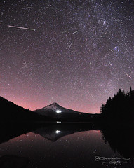 Perseid Meteor Shower photo by Gary Randall