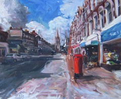 Muswell Hill Summer View Painting photo by Captain Wakefield