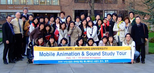 Keimyung Students at Hull