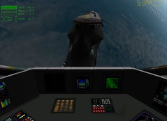 Firefly Shuttle Cockpit View