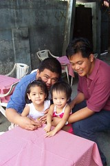 with Ama, Hope & Tito Erwin
