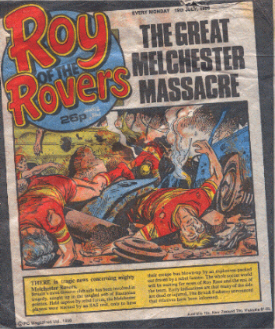 Roy of the Rovers Bus Crash
