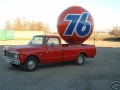 Full-sized Spinning 76 Ball on eBay!