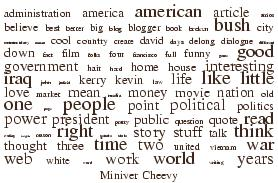 Miniver Cheevy word cloud