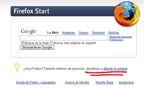 Firefox Fundamentalismo