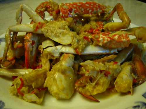 Flower Crabs With Hot & Sour Sauce