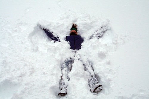 Making a Snow Angel, Part Two