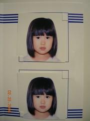 所以我在照护照照片的时候,,就很乖