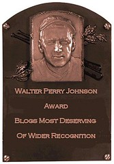 Walter Perry Johnson Award