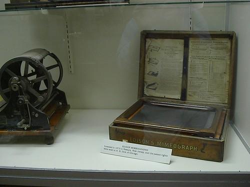 Mimeograph #1