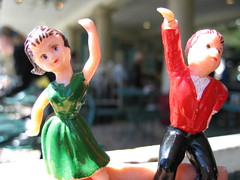 Dancing at the French Market Cafe