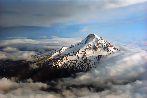 Mt. Hood from the Air