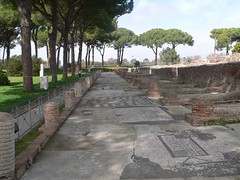 Korporationernes Plads, Ostia