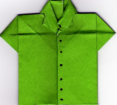 Crisp Green Shirt, from drumsnwhistles on flickr.