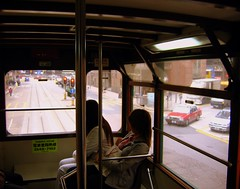 Inside The Doble Decker Tram