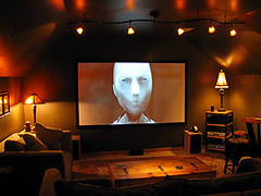 Home Theater Showroom Projector