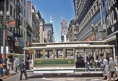 San Francisco Cable Cars - 1958