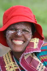 South African smile