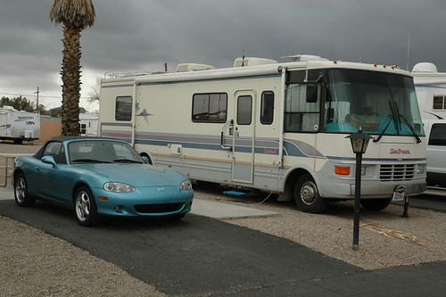 Prince of Tucson RV Park site