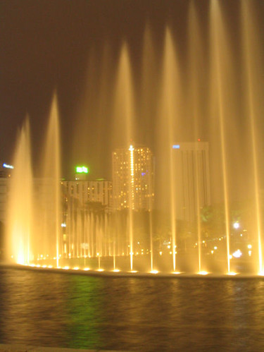 Beautiful Fountain Shot