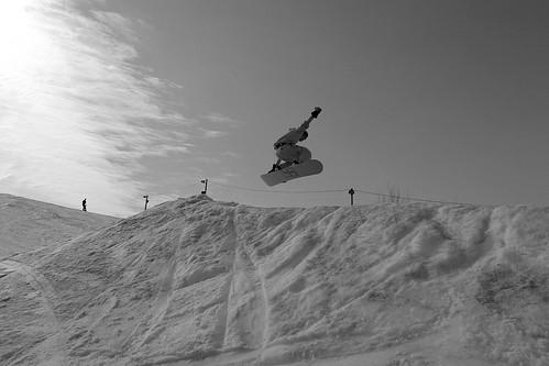 Dave Jump B+W