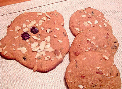 Lilikoi-Blueberry Cookies