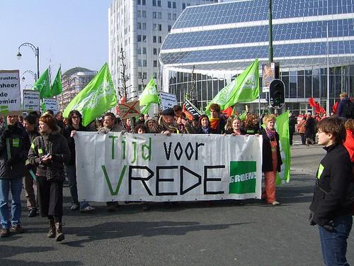 betoging Groen