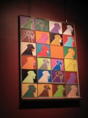 art on a dog theme