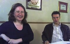 Laura Lee Davies and Ben Drury