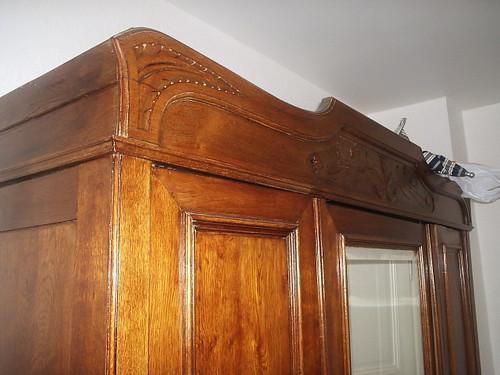 Our antique armoire