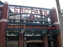 SBC Ballpark - Willie Mays Gate
