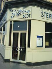 The Sizzling Scot exterior, Edinburgh (1)