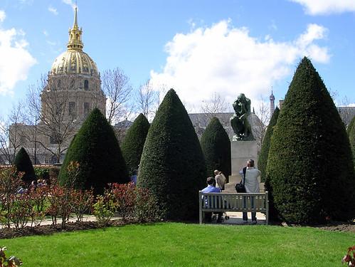 Jardin du musée Rodin