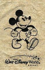 Mickey Napkin