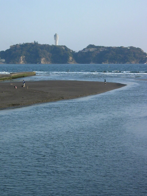 View on an island of Enoshima.