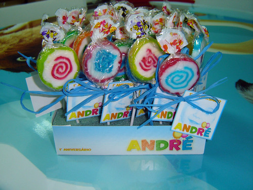 Conjunto de chupas - aniv André