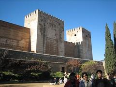 Alcazaba di Alhambra, Granada, Spain