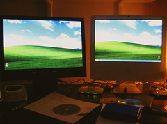 WinXP on an Intel iMac