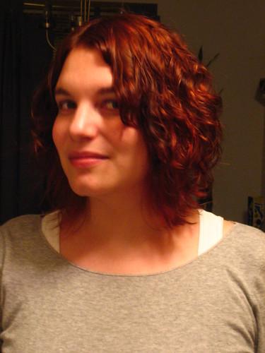 Girlie's haircut