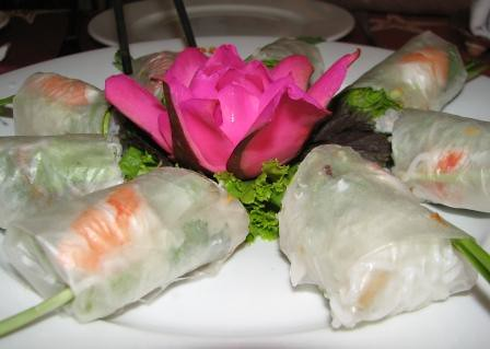 Fresh spring rolls - San Ho Rest