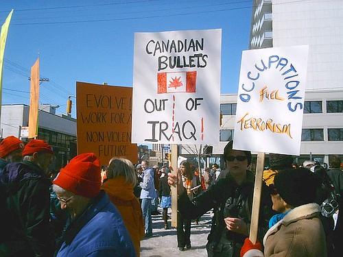 canada protest