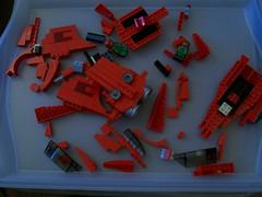 Scarlet Mayhem in Pieces
